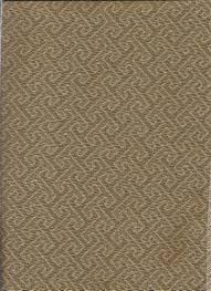 Geometric Pattern Window Curtains by Turnkey In Sepia Fabric Woven Geometric Pattern For Modern Window