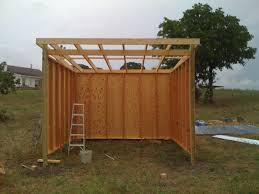 12x12 Gambrel Shed Plans by Horse Shelter Plans Simple Build Portable Work Shed