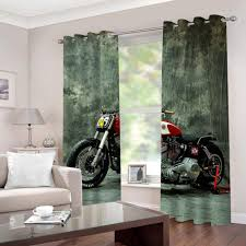 ymljh gardinen blickdicht motorrad lichtundurchlässige