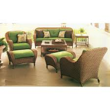 Hampton Bay Patio Chair Replacement Cushions by Chateau Palm Cove Conversation Set Replacement Cushions Garden Winds