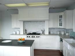 Grey Kitchen With White Cabinets Bloomingcactusme