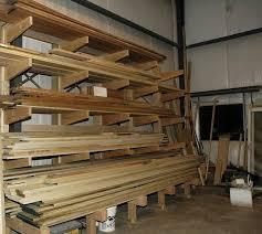 wood storage rack design plans diy free download free garage wall