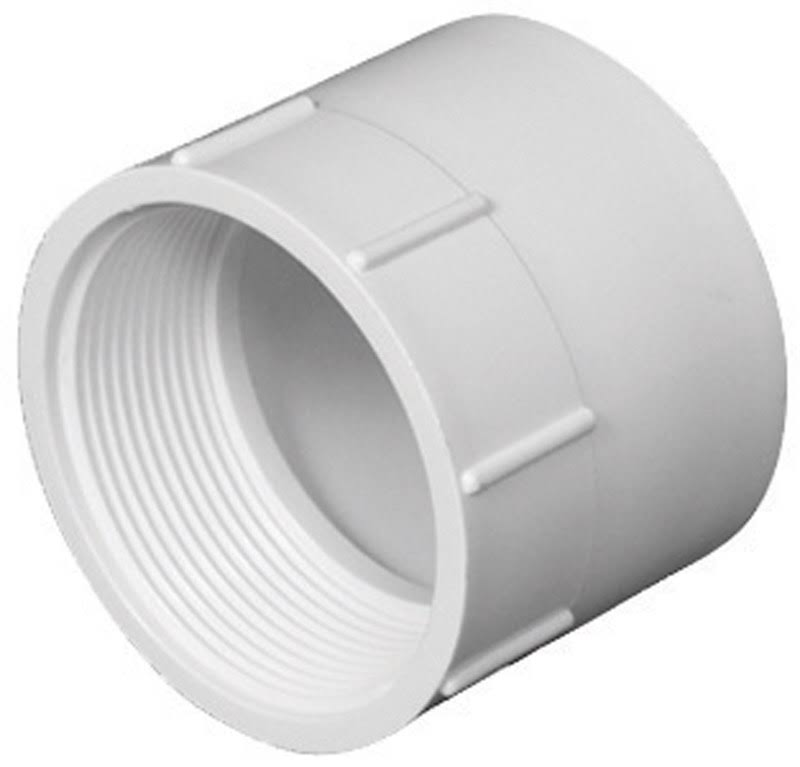 Charlotte Pvc001010800ha Female Adapter PVC Fitting - 1.05""