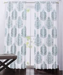 Tahari Home Curtains Tj Maxx by Amazon Com Nicole Miller Home Light Teal Paisley Medallions