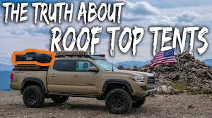 100 Truck Tent Camper The TRUTH About ROOFTOP TENT Camping Watch Before You Buy Pros