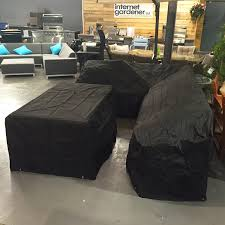 Ebay Patio Furniture Uk by High Quality Black Outdoor Corner Dining Sofa Set Weather Cover