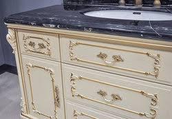 marseille antique bathroom vanity set white