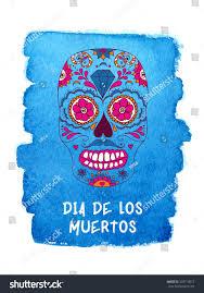 Easy Sugar Skull Day Of by Day Dead Sugar Skull Vector Mexican Stock Vector 329714015