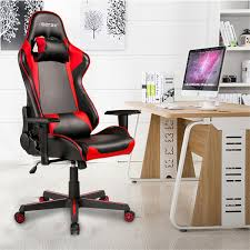 Merax Ergonomic Office Chair Gaming Chair Racing Style High ...