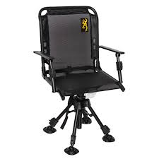 Browning Ultimate Blind Swivel Chair - Item# 1500760 | Sportsman's ... Browning Tracker Xt Seat 177011 Chairs At Sportsmans Guide Reptile Camp Chair Fireside Drink Holder With Mesh Amazoncom Camping Kodiak Fniture 8517114 Pro Alps Special Rimfire Khakicoal 8532514 Walmartcom Cabin Sports Outdoors Director S Plus With Insulated Cooler Bag Pnic At Everest 207198 Camp Side Table Outdoor Imported Goods Repmart Seat Steady Lady Max5 Stready Camo Stool W Cooler Item 1247817 Chairgold Logo