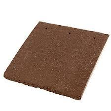 redland plain roofing tile and half brown 02 615902 travis perkins