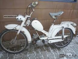 1966 DKW 110 Scooter With Vintage Motor Assisted Bicycle