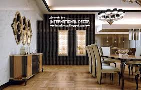 Stylish Art Deco Dining Kitchen Interior Design Style And Furniture Apartments London