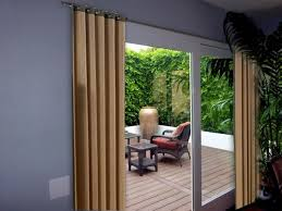 Sliding Door Curtain Ideas Pinterest by Patio Door Curtains And Blinds Ideas Home Design Health Support Us