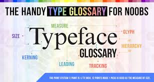 A Useful Comprehensive List Of Typography Terms For Designers