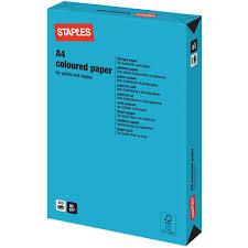 Staples Gekleurd Papier Voor Laser Inkjet En Kopieer A4 80 G M Printing Color