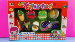 Dora The Explorer Kitchen Playset by Velcro Toy Cutting Vegetables Super Food Playset Kitchen Video