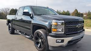 2015 RALLY 2 EDITION CHEVROLET SILVERADO DOUBLE CAB 4X4 BLACK WITH ...