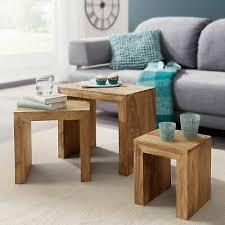 möbel beistelltisch holz massivholz wohnzimmer tisch