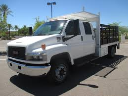 USED 2006 GMC TOPKICK C4500 STAKE BODY TRUCK FOR SALE IN AZ #2237