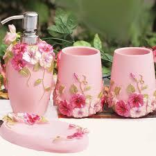 Pink Cheetah Print Bathroom Set by Best 25 Pink Bathroom Accessories Ideas On Pinterest Minimal