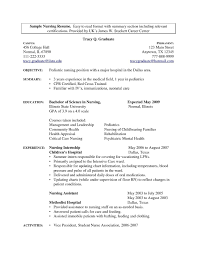 Sample Resume Medical Assistant Just Graduated Valid Entry Level Examples Resumes