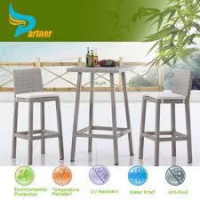 High Top Patio Furniture Sets by Partner New Style Cheap Outdoor Wicker High Top Patio Furniture