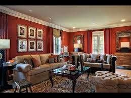Red Living Room Ideas Pictures by Red Living Rooms Wall Paint Furniture Ideas Youtube