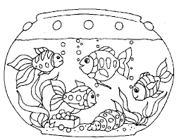 New Fish Tank Coloring Page 11 For Your Line Drawings With