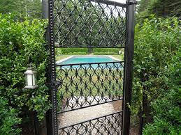 Decorative Garden Fence Panels by Chain Link Fence Enclose Vegetable Garden Fences Fencing Cane Reed