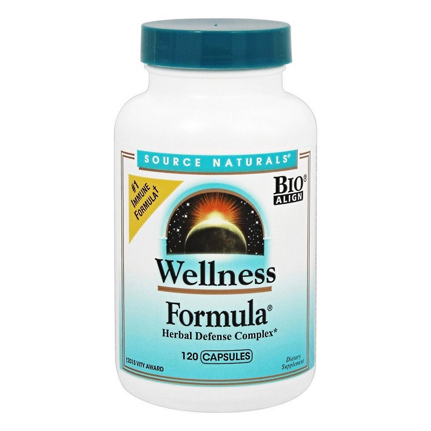 Source Naturals Wellness Formula - 120 Capsules