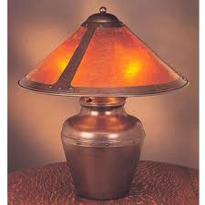 Mica Lamp Company Sconce by Mica Lamp Company 003 Traditional Table Lamp