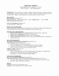 Criminal Justice Resume Objective Examples Ideas Of