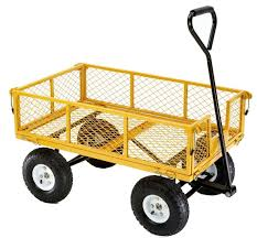Amazon Farm & Ranch FR1245 2 Steel Utility Cart with