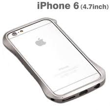 Strapya World Cleave Aluminum Sleek Bumper for iPhone 6 Silver