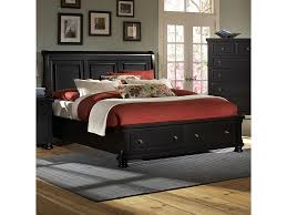 Vaughan Bassett Triple Dresser by Vaughan Bassett Reflections King Storage Bed With Sleigh Headboard