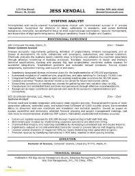 Business Systems Analyst Resume Best Of Data Template Entry Level Senior Sample