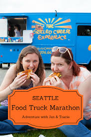 Jen & Tracie Go - Seattle Food Truck Marathon - A Day Of Mobile ...