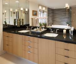 Industrial Bathroom Cabinet Mirror by Scenic Bathroom Sconces Mounted On Mirror With Shades Height