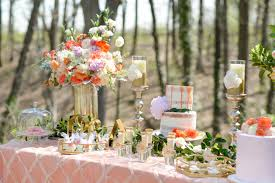 Romantic Outdoor Wedding Dessert Table Inspiration