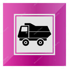 Dump Truck — Stock Vector © RedineVector #85560818