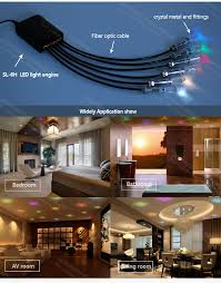 Fibre Optic Ceiling Lighting by 6w Rgb Color Marquee Optical Fiber Led Light Engine For Ceiling