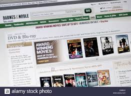 Barnes & Noble Bookstore Website Stock Photo, Royalty Free Image ...