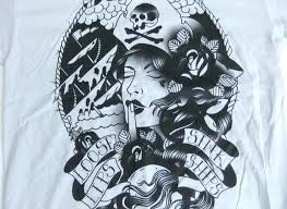 pirate girl tattoo loose lips sink ships drawing and art