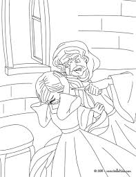 Rapunzel Grimm Tale Coloring Pages
