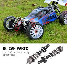 2pcs Alloy Rear&Front Shock Absorber For HSP 1:8 RC Cross Country ...