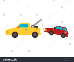 100 Free Tow Truck Service Yellow Car Ing Stock Vector Royalty