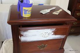 How To Shabby Chic Your Dark Furniture