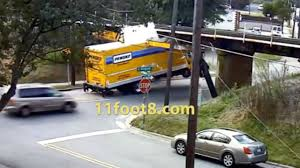 100 Truck Rental Durham Nc The Definitive 11Foot8 Bridge Crash Compilation YouTube