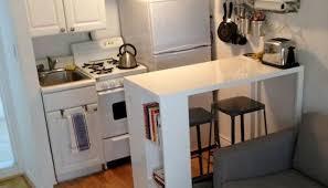 Interior Amazing Cute Apartment Spacious Kitchen Design Ideas